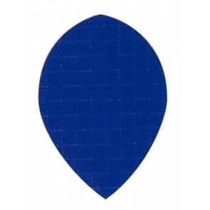 Nylon Longlife Fabric Flights - Pear - Blue