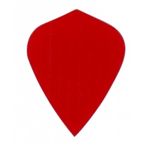 Nylon Longlife Fabric Flights - Kite - Red