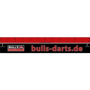 Bull's darts throw-off line