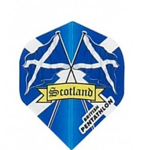 British Pentathlon Flag Land Dart Flights Scotland
