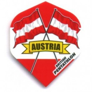 British Pentathlon Flag Land Dart Flights Austria