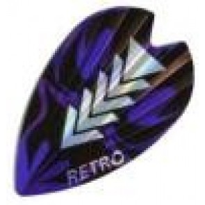 Retro Flights (purple - silver)