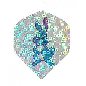 2D Hologram Blue Bunny Fullsize Flights
