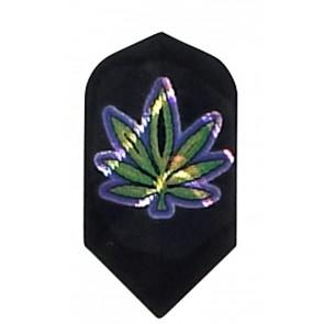 2D Hologram Cannabis Slim Flights