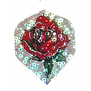 2D Hologram Rose Fullsize Flights