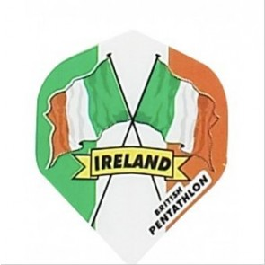 British Pentathlon Flag Country Dart Flights Ireland
