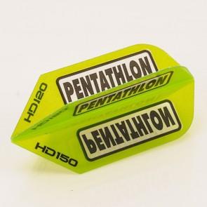 5 x Sets of Pentathlon GREEN SuperTough HD 150 Dart Flights, Slim