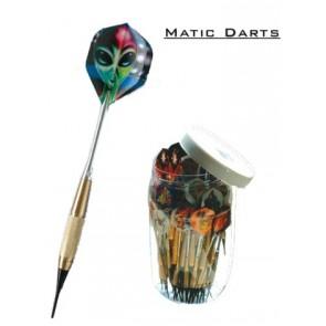 100 Stk. Matic Soft Haus Darts