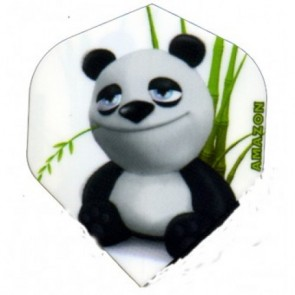 RUTHLESS CARTOON PANDA DARTS FLIGHT