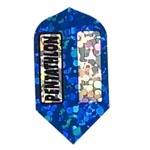"""Blue"" Pentathlon Diamond Slim Flights"
