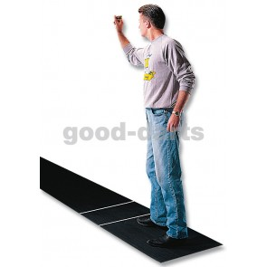 Steel Dart Mat made of rubber with a discharge line (237cm)