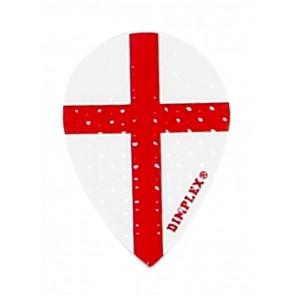Harrows Dimplex England flag Pear Flights