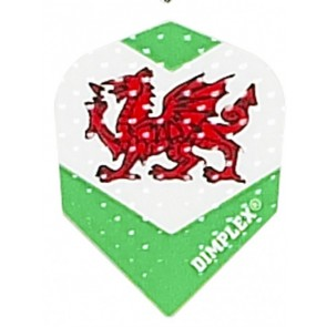 Harrows Dimplex Wales Flag Fullsize Flights