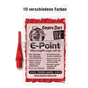 100 pcs. E-Point soft darts (short)
