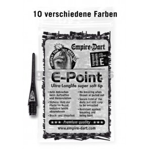 500 Pcs. E-Point Soft Dart Tips (lang)