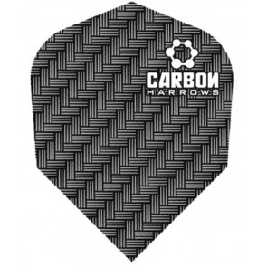 Harrows Carbon Flights Silver/Grey