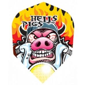 Harrows Quadro Hells Pig Fullsize Flights