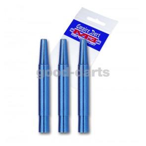 M3 Alu Extra Short (2.5 cm) Blue Shafts