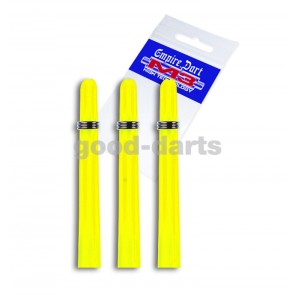 M3 nylon short (3,5cm) neon yellow shafts