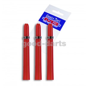M3 Nylon Extra Short (2.5 cm) Red Shafts