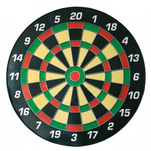 Magnet dartboard for children incl. 6 magnet arrows