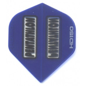 Pentathlon BLUE SuperTough HD 150 Dart Flights, Fullsize