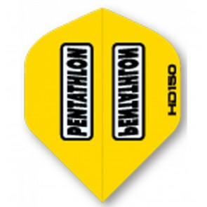 Pentathlon YELLOW SuperTough HD 150 Dart Flights, standard