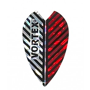 Harrows Vortex Flights Silver / Red